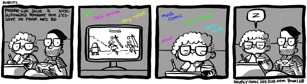 Hourly Comic Day 2018