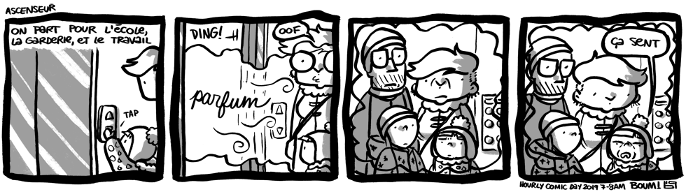 Hourly Comic Day 2019