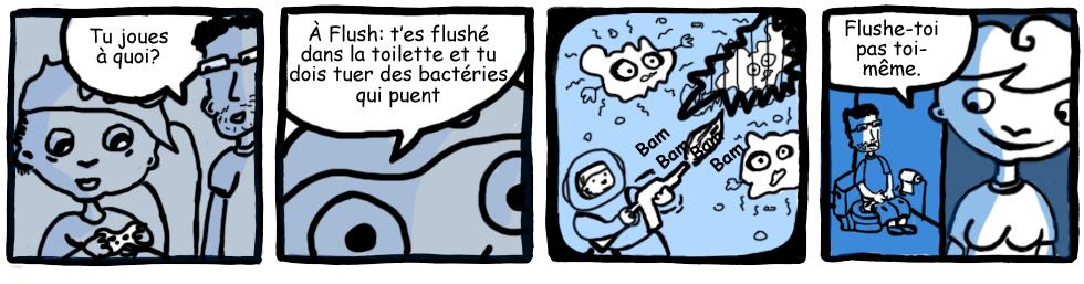 Bédé invitée: Flushé