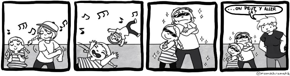 Bédé invitée: Danse