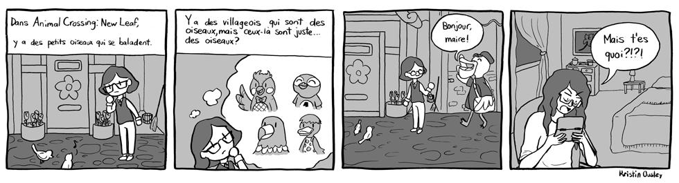 Bédé invitée: Oiseaux